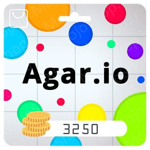 خرید 3250 سکه Agar.io