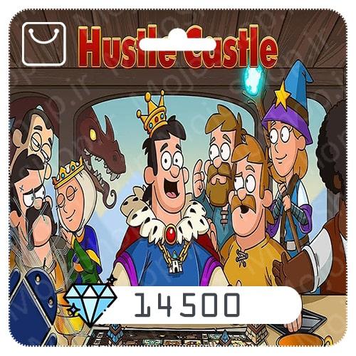 خرید 14500 الماس بازی هاستل کستل