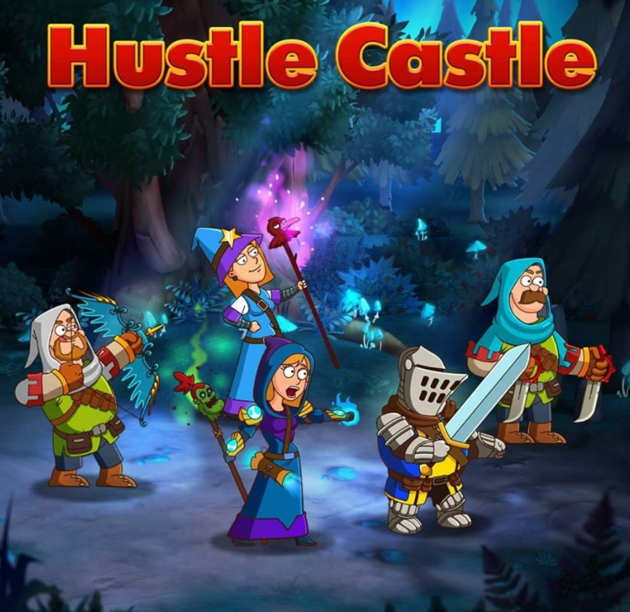 بازی hustle castle