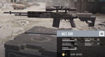 اسلحه m21 کالاف