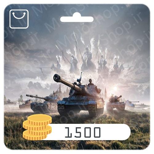 خرید 1500 طلا World of Tanks Blitz