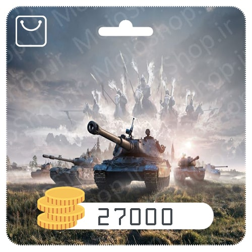 خرید 27000 طلا World of Tanks Blitz