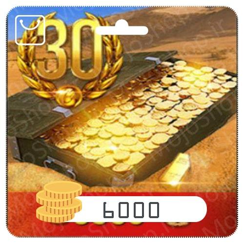 خرید 30 روز اکانت پرمیوم + 6000 سکه بازی تانکی World of Tanks