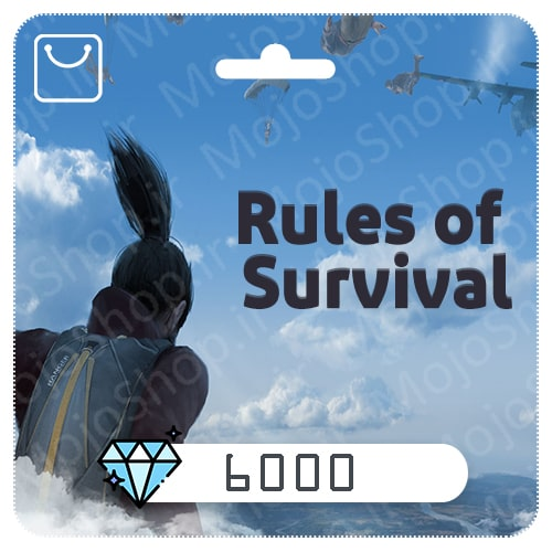 خرید 6000 الماس Rules of Surevival