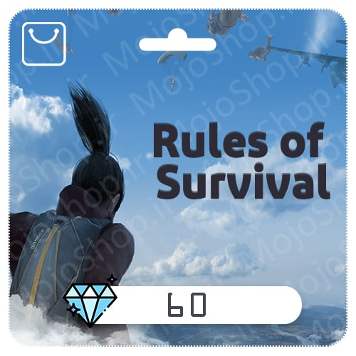 خرید 60 الماس Rules of Surevival