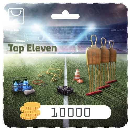 خرید 10000 سکه Top Eleven