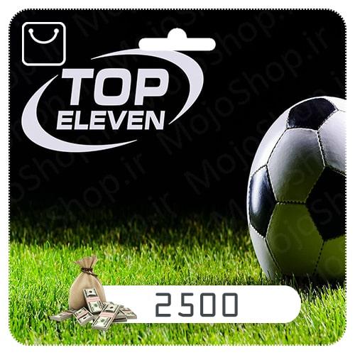 خرید 2500 دلار Top Eleven