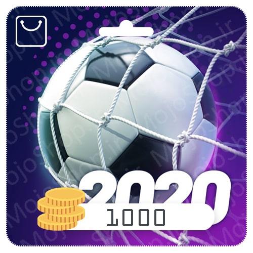 خرید 1000 سکه تاپ فوتبال منیجر