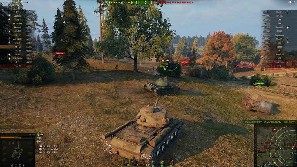 بازی تانک world of tanks