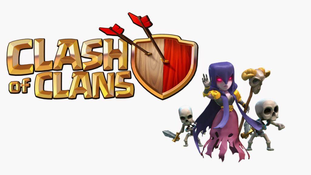 همه چیر درباره نیروی ویچ witch بازی clash of clans