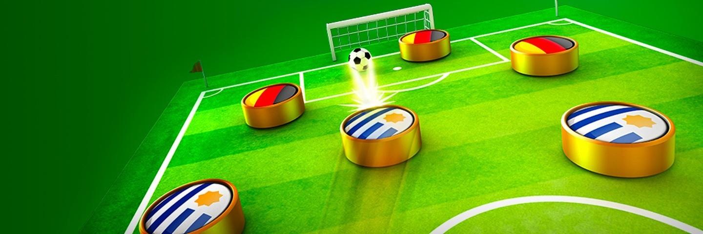 آموزش بازی کردن 2 نفره در بازی soccer stars