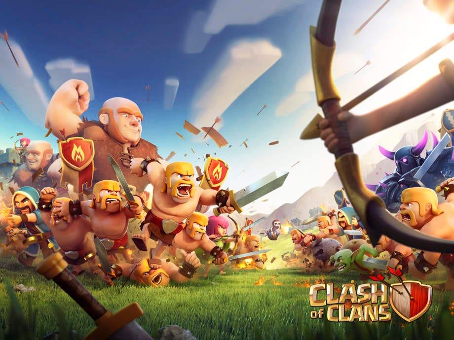 همه چیز درباره والکری در بازی clash of clans