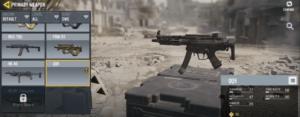 اسلحه QQ9 در بازی کالاف دیوتی call of duty mobile