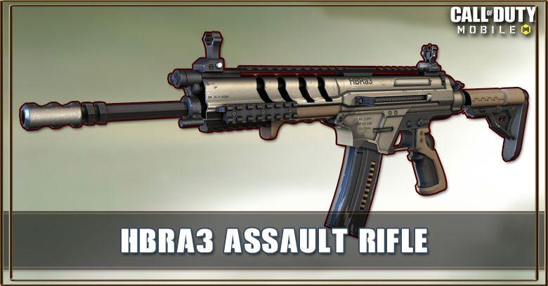 آموزش استفاده از اسلحه HBRa3 کالاف دیوتی موبایل