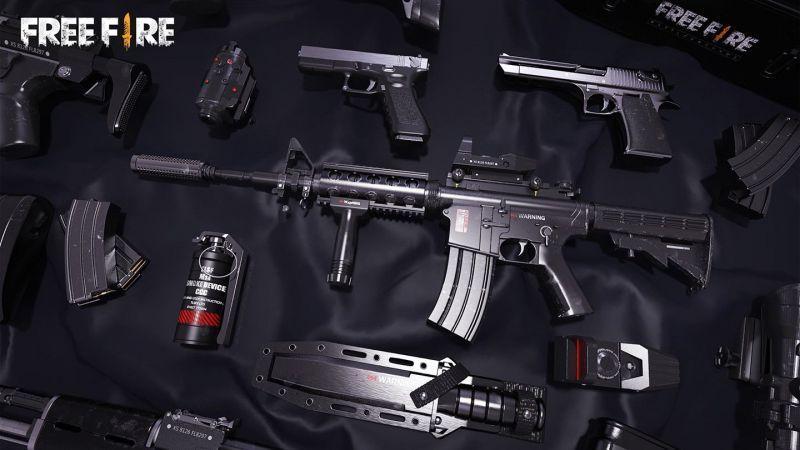 بدترین اسلحه های بازی فری فایر free fire