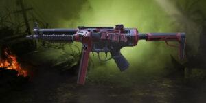 اسکین اسلحه QQ9 در بازی کالاف دیوتی