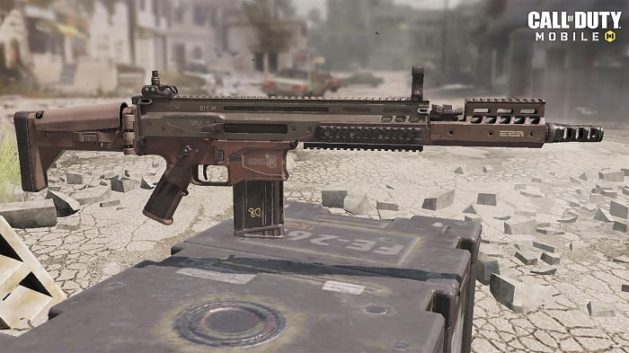 اسلحه DR-H کالاف دیوتی