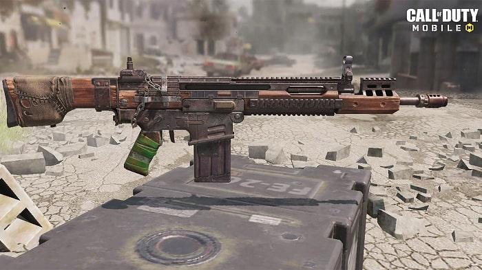 اسلحه DR-H در بازی کال آف دیوتی موبایل