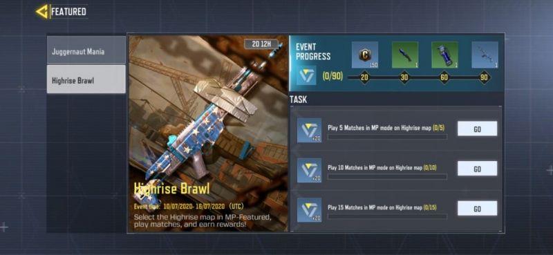 مپ جدید Highrise بازی کال اف دیوتی موبایل