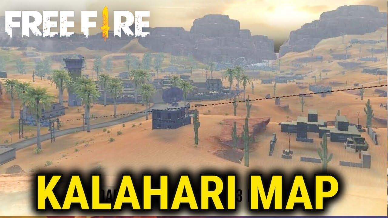 بهترین کاراکتر های بازی فری فایر در مپ کالاهاری Kalahari