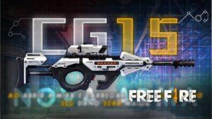 معرفی و بررسی اسلحه CG15 بازی فری فایر