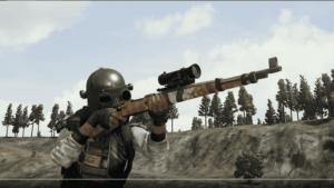مقایسه اسلحه AWM و KAR98 بازی پابجی موبایل