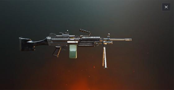بررسی تخصصی اسلحه M249 بازی پابجی موبایل