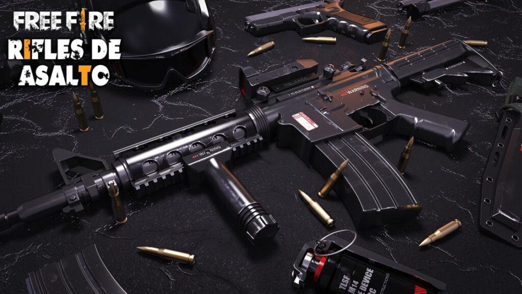 مقایسه اسلحه Groza و AUG بازی فری فایر