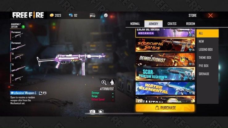 نقد و بررسی اسلحه MP40 بازی فری فایر
