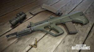 مقایسه اسلحه M416 و AUG بازی پابجی موبایل