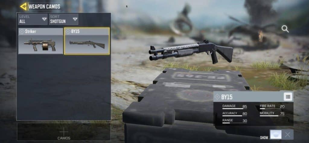 همه چیز درباره اسلحه BY-15 در بازی کالاف دیوتی موبایل