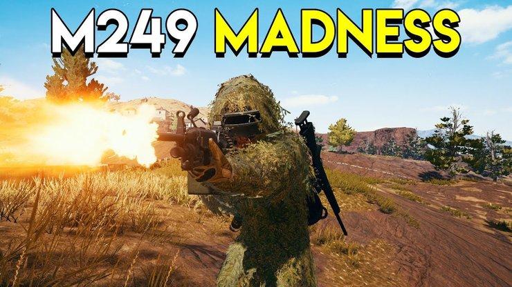 مقایسه اسلحه M249 و M416 بازی پابجی موبایل