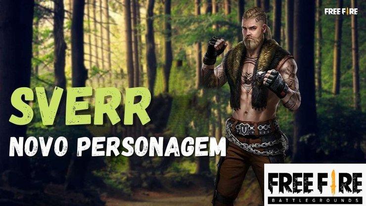معرفی کاراکتر جدید Sverr در بازی فری فایر