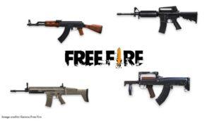 نقد و بررسی سلاح های بازی فری فایر free fire