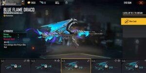همه چیز درباره Blue Flame Draco اسکین بازی فری فایر