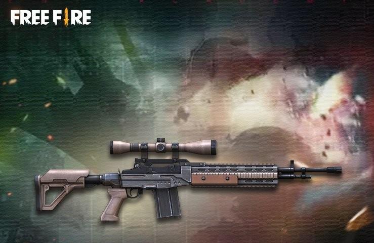 معرفی اسلحه جدید M21 Woodpecker در بازی فری فایر
