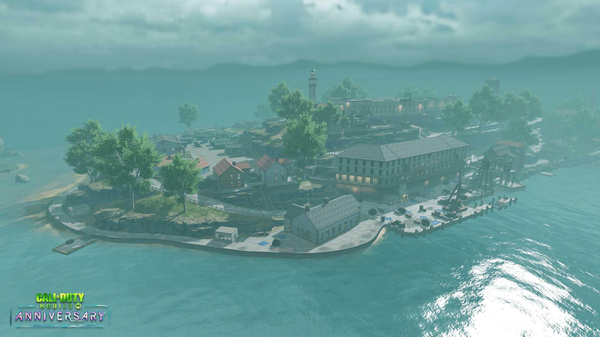 نقد و بررسی مپ Alcatraz بازی کالاف دیوتی موبایل