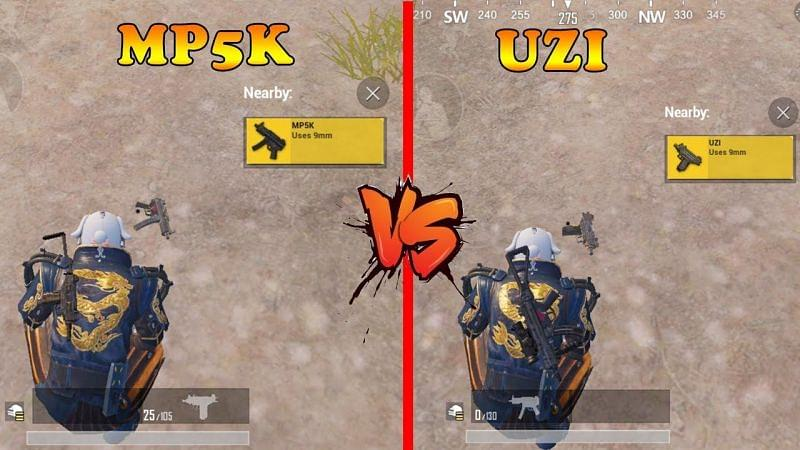 سلاح های مپ ویکندی در بازی پابجی موبایل