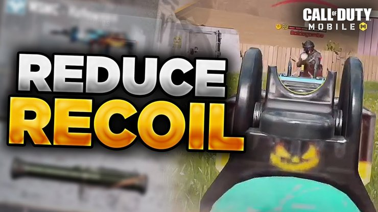 کم کردن Recoil اسلحه در کالاف دیوتی موبایل
