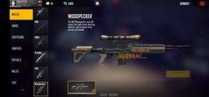 اطلاعات اسلحه M21 Woodpecker بازی فری فایر