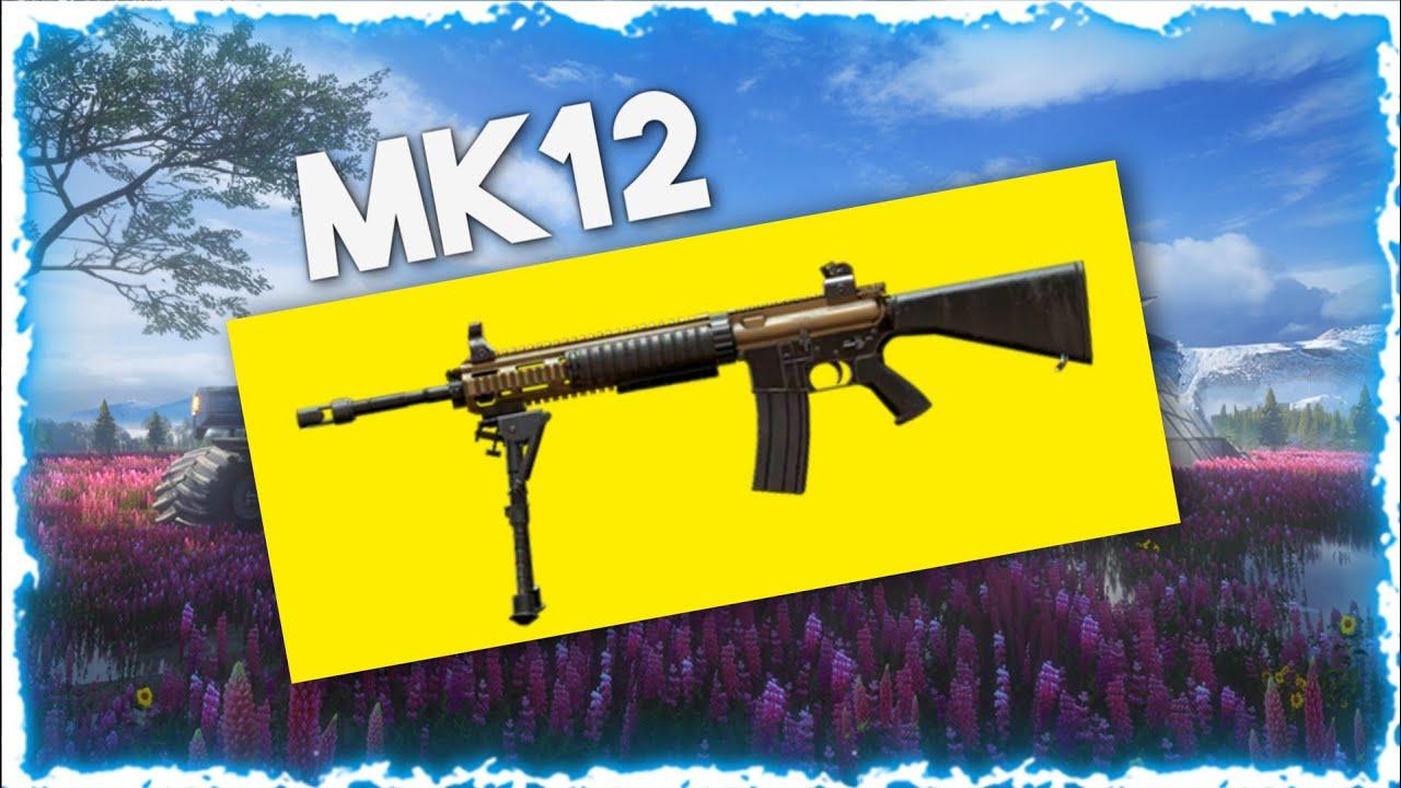 پیدا کردن اسلحه mk12 در بازی پابجی موبایل
