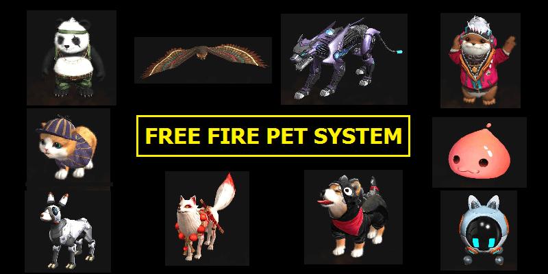 معرفی کاربردی ترین حیوانات در بازی فری فایر free fire