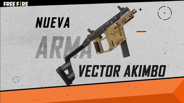 معرفی اسلحه Vector Akimbo در بازی فری فایر