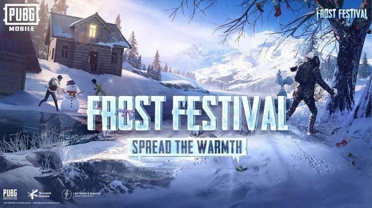 همه چیز درباره فستیوال frost در بازی پابجی موبایل