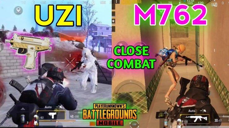 نقد و بررسی سلاح های UZI و Beryl M762 در بازی پابجی موبایل