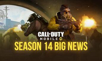 جدیدترین اخبار سیزن 14 بازی کالاف دیوتی موبایل