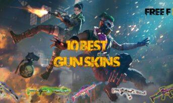 معرفی قوی ترین اسکین اسلحه در بازی فری فایر