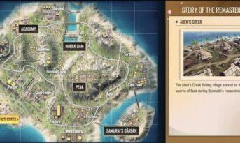 معرفی مکان های خاص در مپ برمودا بازی فری فایر