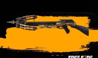 معرفی سلاح های crossbow در بازی فری فایر free fire