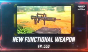همه چیز درباره اسلحه FR.556 در بازی کالاف دیوتی موبایل